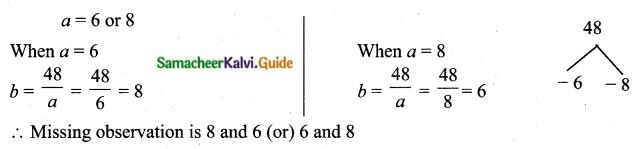 Samacheer Kalvi 10th Maths Guide Chapter 8 Statistics and Probability Ex 8.1 Q15.3