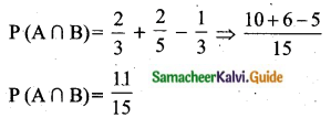 Samacheer Kalvi 10th Maths Guide Chapter 8 Statistics and Probability Ex 8.4 Q1