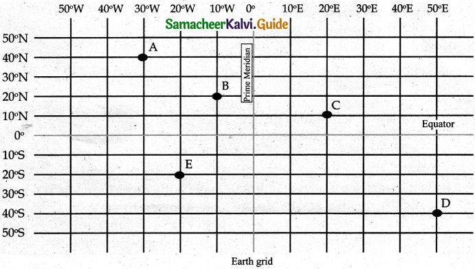 Samacheer Kalvi 6th Social Science Guide Geography Term 3 Chapter 2 Globe