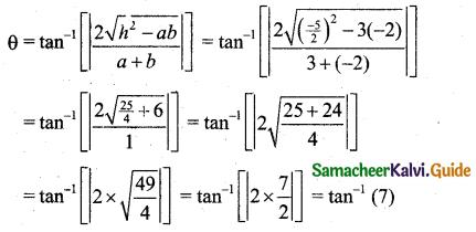 Samacheer Kalvi 11th Business Maths Guide Chapter 3 Analytical Geometry Ex 3.3 Q4