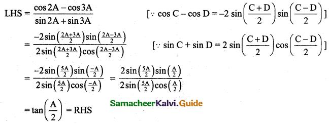 Samacheer Kalvi 11th Business Maths Guide Chapter 4 Trigonometry Ex 4.3 14