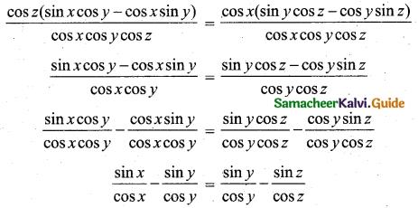 Samacheer Kalvi 11th Business Maths Guide Chapter 4 Trigonometry Ex 4.3 23