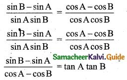 Samacheer Kalvi 11th Business Maths Guide Chapter 4 Trigonometry Ex 4.3 25