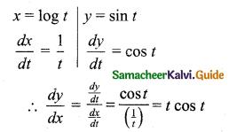 Samacheer Kalvi 11th Business Maths Guide Chapter 5 Differential Calculus Ex 5.8 Q1.1