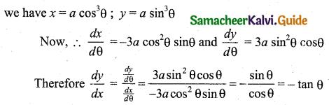 Samacheer Kalvi 11th Business Maths Guide Chapter 5 Differential Calculus Ex 5.8 Q1.2