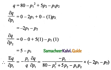 Samacheer Kalvi 11th Business Maths Guide Chapter 6 Applications of Differentiation Ex 6.5 Q6