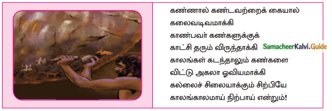 Samacheer Kalvi 12th Tamil Guide Chapter 1.5 தமிழாய் எழுதுவோம் 2