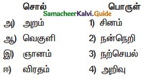 Samacheer Kalvi 9th Tamil Guide Chapter 8.4 யசோதர காவியம் - 1