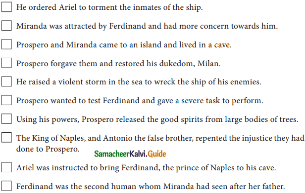 Samacheer Kalvi 10th English Guide Supplementary Chapter 1 The Tempest img 1