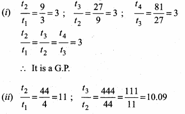 Samacheer Kalvi 10th Maths Guide Chapter 2 Numbers and Sequences Ex 2.7 1