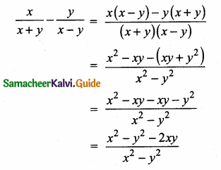 Samacheer Kalvi 10th Maths Guide Chapter 3 Algebra Additional Questions 13