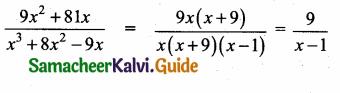 Samacheer Kalvi 10th Maths Guide Chapter 3 Algebra Ex 3.4 4