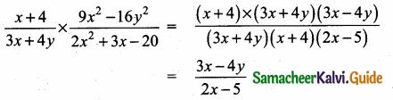 Samacheer Kalvi 10th Maths Guide Chapter 3 Algebra Ex 3.5 6