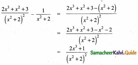 Samacheer Kalvi 10th Maths Guide Chapter 3 Algebra Ex 3.6 6