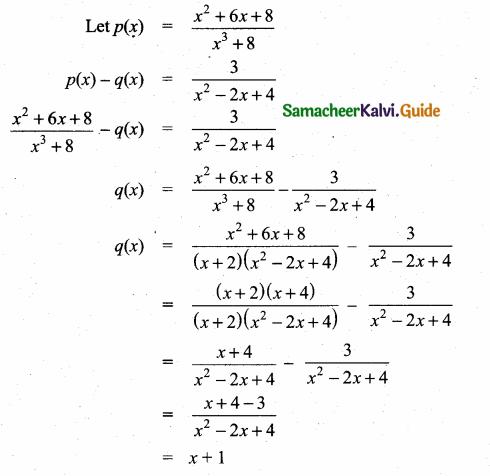 Samacheer Kalvi 10th Maths Guide Chapter 3 Algebra Ex 3.6 7