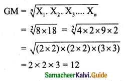 Samacheer Kalvi 11th Business Maths Guide Chapter 8 Descriptive Statistics and Probability Ex 8.3 Q6