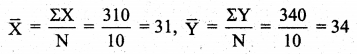 Samacheer Kalvi 11th Business Maths Guide Chapter 9 Correlation and Regression Analysis Ex 9.1 Q5.2