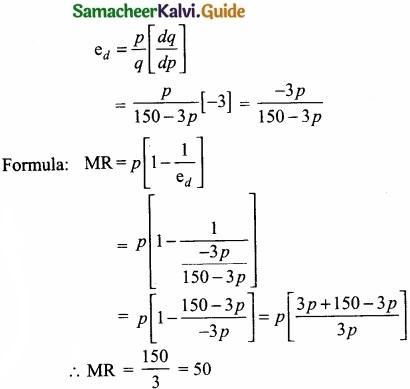Samacheer Kalvi 11th Economics Guide Chapter 12 Mathematical Methods for Economics img 1