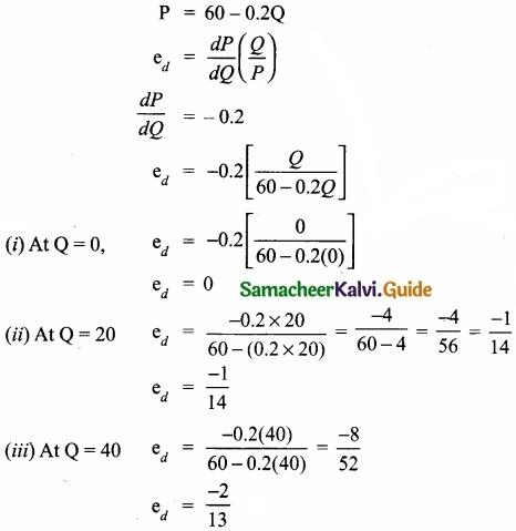 Samacheer Kalvi 11th Economics Guide Chapter 12 Mathematical Methods for Economics img 7