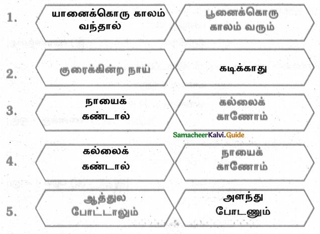 Samacheer Kalvi 4th Tamil Guide Chapter 5 பண்படுத்தும் பழமொழிகள் - 2
