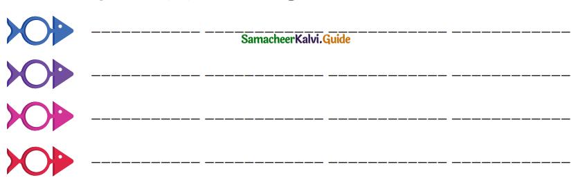 Samacheer Kalvi 4th Tamil Guide Chapter 7 வெற்றி வேற்கை - 6