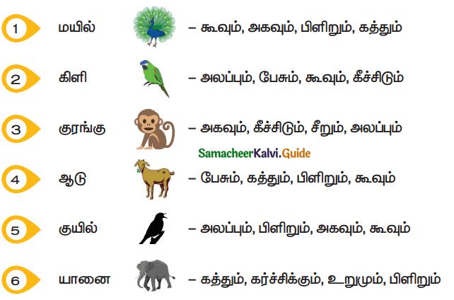 Samacheer Kalvi 5th Tamil Guide Chapter 1.4 மரபுச்சொற்கள் - 1