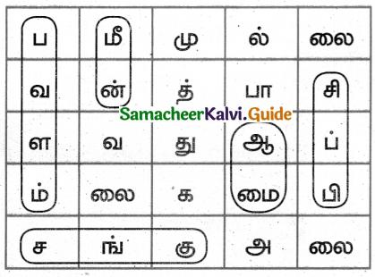 Samacheer Kalvi 5th Tamil Guide Chapter 3.4 சொற்றொடர் அமைப்பு முறை - 6