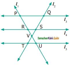 Samacheer Kalvi 6th Maths Guide Term 1 Chapter 4 Geometry Ex 4.1 8