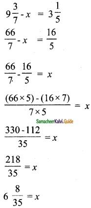Samacheer Kalvi 6th Maths Guide Term 3 Chapter 1 Fractions Ex 1.2 9