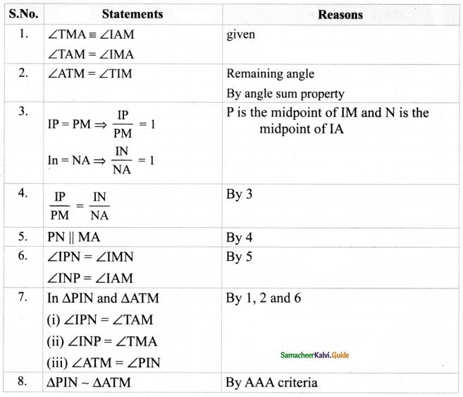 Samacheer Kalvi 8th Maths Guide Answers Chapter 5 Geometry Ex 5.3 10