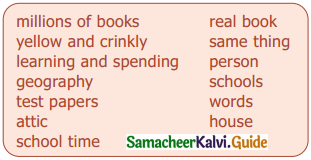Samacheer Kalvi 9th English Guide Supplementary Chapter 2 The Fun They Had