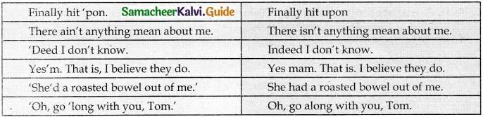 Samacheer Kalvi 9th English Guide Supplementary Chapter 4 The Cat and the Pain-killer