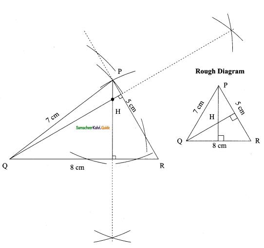 Samacheer Kalvi 9th Maths Guide Chapter 4 Geometry Ex 4.5 5