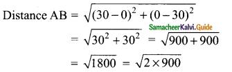 Samacheer Kalvi 9th Maths Guide Chapter 5 Coordinate Geometry Ex 5.2 21