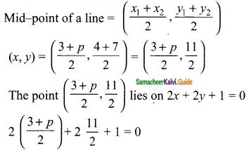 Samacheer Kalvi 9th Maths Guide Chapter 5 Coordinate Geometry Ex 5.3 3
