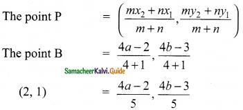 Samacheer Kalvi 9th Maths Guide Chapter 5 Coordinate Geometry Ex 5.4 11