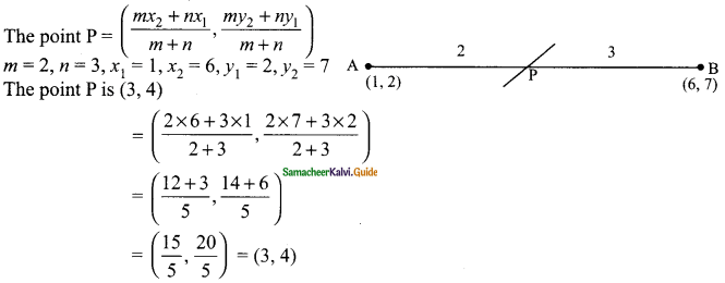 Samacheer Kalvi 9th Maths Guide Chapter 5 Coordinate Geometry Ex 5.4 3