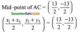 Samacheer Kalvi 9th Maths Guide Chapter 5 Coordinate Geometry Ex 5.5 15