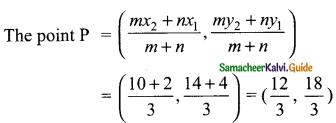 Samacheer Kalvi 9th Maths Guide Chapter 5 Coordinate Geometry Ex 5.6 2