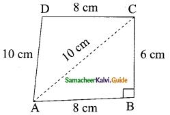 Samacheer Kalvi 9th Maths Guide Chapter 7 Mensuration Additional Questions 3