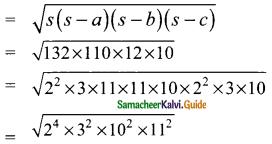 Samacheer Kalvi 9th Maths Guide Chapter 7 Mensuration Ex 7.1 3