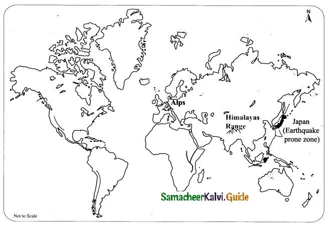 Samacheer Kalvi 9th Social Science Guide Geography Chapter 1 Lithosphere - I Endogenetic Processes