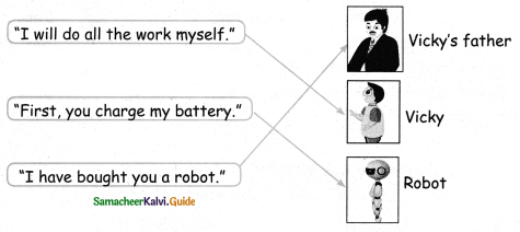 Samacheer Kalvi 4th English Guide Term 1 Prose Chapter 1 A World with Robots 2