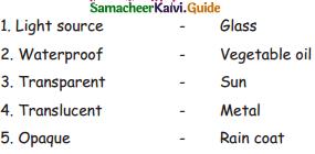 Samacheer Kalvi 4th Science Guide Term 1 Chapter 2 matter and materials 24