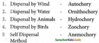Samacheer Kalvi 5th Science Guide Term 2 Chapter 3 Plants 6