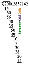 Samacheer Kalvi 9th Maths Guide Chapter 2 Real Numbers Ex 2.2 1