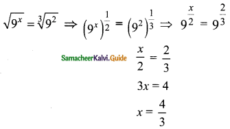 Samacheer Kalvi 9th Maths Guide Chapter 2 Real Numbers Ex 2.9 2