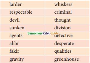 Samacheer Kalvi 11th English Guide Poem 4 Macavity - The Mystery Cat 1