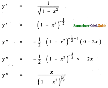 Samacheer Kalvi 11th Maths Guide Chapter 10 Differentiability and Methods of Differentiation Ex 10.4 34