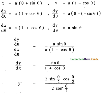 Samacheer Kalvi 11th Maths Guide Chapter 10 Differentiability and Methods of Differentiation Ex 10.4 37